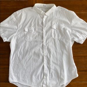 Calvin Klein Slim Fit Button Up Shirt